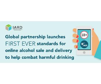 มาตรฐานสากลสำหรับการจำหน่ายเครื่องดื่มแอลกอฮอล์ออนไลน์และการจัดส่งโดย IARD หรือ สมาพันธ์เพื่อการดื่มอย่างรับผิดชอบนานาชาติ
